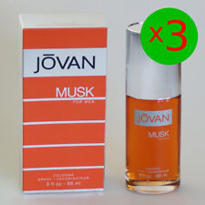 Jovan, Musk for Men / Pour Homme, Cologne Spray 3 x 88ml = 264ml