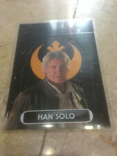 STAR WARS Force Awakens - Force Attax Extra Trading Card #132 Han Solo