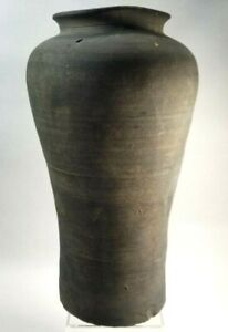 "Korea Korean Pottery Flaring Vessel 9 1/2 "" Silla dynasty ca. 5th-6th century"