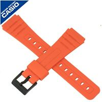 Genuine Casio Watch Strap Band for F-91WC-4A2 F 91WC F 91W 91 ORANGE 10361904