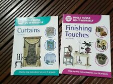 Dolls house DIY books Curtains and Finishing Touches