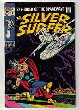 Marvel comics Silver Surfer 4 Battles Thor VG- 3.5