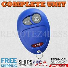 Keyless Entry Remote for 2001 2002 2003 2004 2005 Chevrolet Venture Car Key Blue