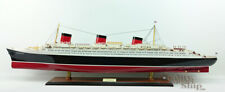 """SS Normandie French Ocean Liner Ship Model 40"""" Museum Quality"""