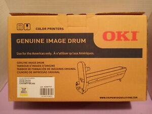 GENUINE OKI YELLOW IMAGE DRUM 43381717 C6100 C6150 MC560 FACTORY SEALED OKIDATA