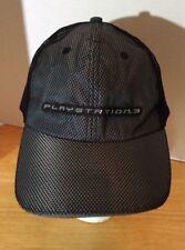 Sony Playstation 3 Official Merchandise Black & Grey Trucker Hat PS3 Velro Back