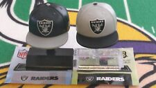 NFL Mad Lids Series 1 & 2 Oakland Raiders 2-pack (2 mini caps/stands/stickers)