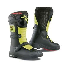TCX Motocross Boots Youth Comp Black/Fluo Yellow New Size U.K.5 On Sale