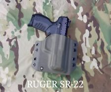 Ruger SR22 Kydex Holster Outside Waistband OD Green  22 Long Rifle