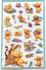 Lovely Disney Winnie the Pooh & Friends 3D Vinyl Sticker Tigger Roo Kids Japan