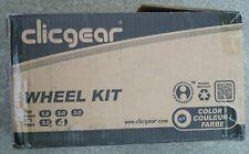 Clicgear Golf cart (All 3 wheel models) Wheel kit.  Used yet useable.