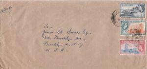Barbados - 1953-4 Definitives - 1c Dover Port, 2c Sugar Cane, 5c Harbour Police