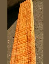 curly maple awesome quartersawn guitar neck blank luthier tone wood
