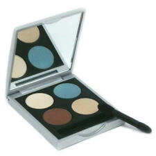 YOUNGBLOOD PRESSED MINERAL EYESHADOW QUAD - CABANA