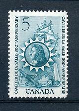 CANADA 1966 300th ANNIVERSARY LA SALLE'S ARRIVAL IN CANADA SG571 BLOCK OF 4 MNH