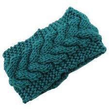 Ladies womens winter headband wrap earmuff hair band warm knitted ski turban