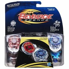 Beyblade Legends 2 Pack - Defense ( BB-82C Grand Cetus v BB-78C Rock Zurafa )