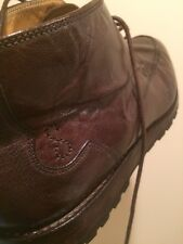 Oliver Sweeney Kilham Buffalo Genuine Leather Boots US 10.5 UK 10 RRP $475
