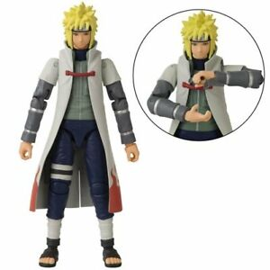 Naruto Anime Heroes Namikaze Minato 4th Hokage Action Figure Bandai