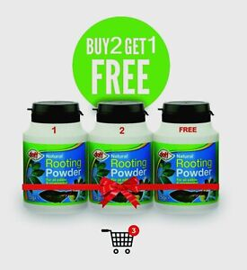 Doff Natural Hormone Rooting Powder Pack for Edible Indoor and Garden Plants-75g