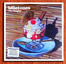 THE BLUETONES – THE SINGLES  Signed 180g Blue Vinyl 2LP 500 copies   SEALED