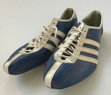 ADIDAS Avanti Track Spikes Shoes | Made in France | VINTAGE 70's | Royal/White