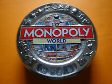 Monopoly World Edition in Blechbox