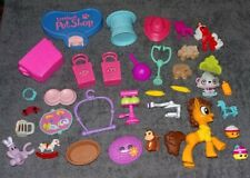 *~30+ Piece Mixed Toy/Accessories Lot - My Little Pony - Lps - Shopkins - Misc~*