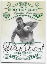 2018 Nrl Glory Induction Class Signature (INDS03) Ricky STUART 022/210