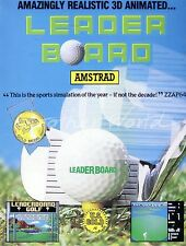 Leader Board (U.S. Gold 1986) Amstrad CPC Game - GC & Complete - Leaderboard