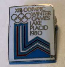New listing Lake Placid Olympic Pin Badge Noc From The 1980 Olympiad