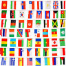 100 pcs Countries String Flag 25M International World bar party Banner BuntiNTAU
