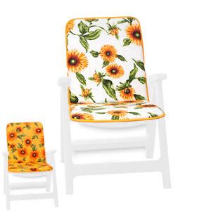 Cushion Chair Soft Armchair Chair Cover Garden Inside Outer Home Sunflower