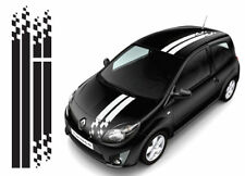 Renault Twingo 015 OTT racing stripes stickers- fit Clio Megane decals graphics
