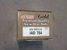 Cadillac Seville Rear Brake Pads 1998-2002  REMSA IAD754