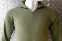 Genuine Dutch Army Norwegian/Norgie Thermal Top/Jumper/Shirt - Size Small - NEW