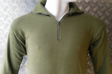 Genuine Dutch Army Norwegian/Norgie Thermal Top/Jumper/Shirt - Size Small
