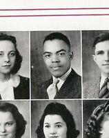 ROBERT WILLIAMS High School Yearbook Tuskegee Airmen