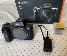 BARELY USED - Sony Alpha A7 II 24.3MP Digital Camera - BODY ONLY + Extra Battery