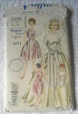 VINTAGE 1960'S VOGUE SEWING PATTERN 4285 WEDDING EVENING DRESS 12 32 INCH BUST