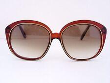CARESS de REVUE F602 Sunglasses, Rare, Vintage, Italy, with Case, NOS
