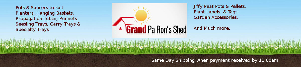 Grand Pa Ron's Shed