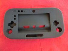 Silikoncase Schutzhülle Soft Cover für Nintendo Wii U Gamepad - SCHWARZ -