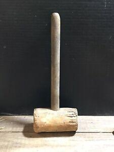 Antique Vintage Wooden Mallet Gavel