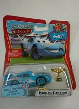 DISNEY PIXAR WORLD OF CARS DINOCO LIGHTNING MCQUEEN WITH PISTON CUP CHASE!! RARE