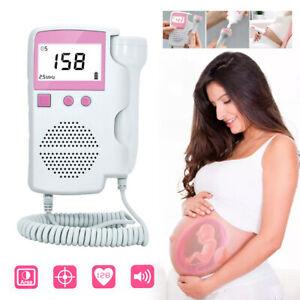 Handheld Fetal Doppler Pränatale Baby Herzfrequenz Doppler Herzschlag Monitor