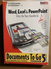 DataViz Documents To Go 5 Premium Edition with activation key! Word, Excel, PPT