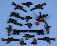 LEGO® STAR WARS / CLONE WARS Blasters Guns Lot Weapons x17 Accessories 100% LEGO