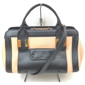 Chloe Hand Bag  Pinks Leather 1511226