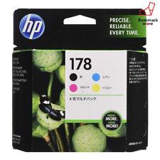 HP Ink Cartridge HP178 4 Colors Multipack CR281AA F/S from Japan Genuine